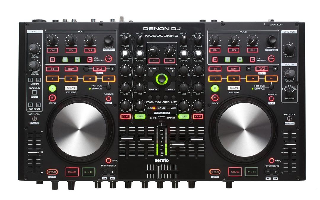 Cele mai bune controllere DJ pentru Serato - Denon MC6000