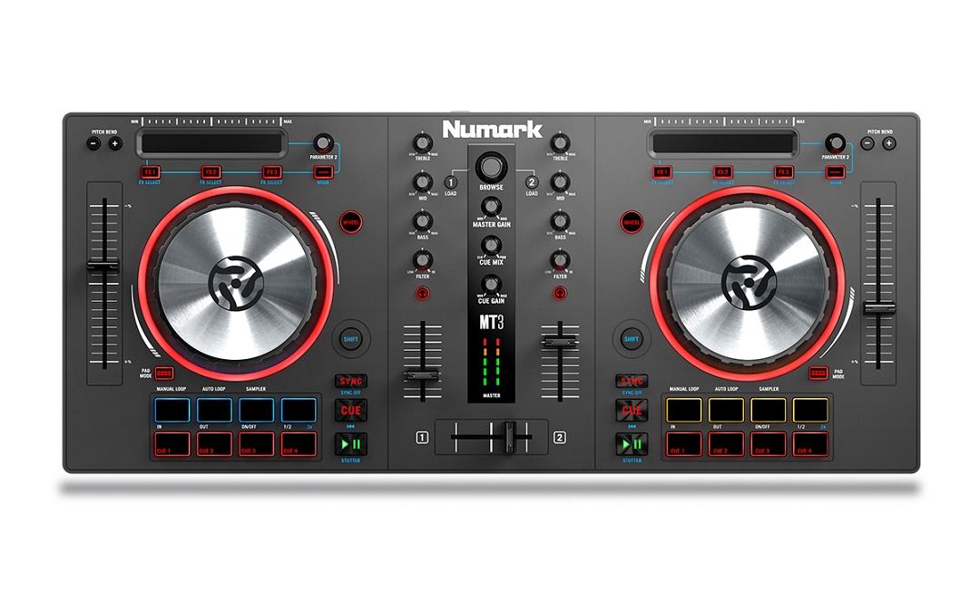 Cele mai bune controllere DJ pentru Serato - Numark Mixtrack PRO III
