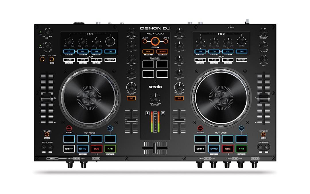 Cele mai bune controllere DJ pentru Serato - Denon MC4000