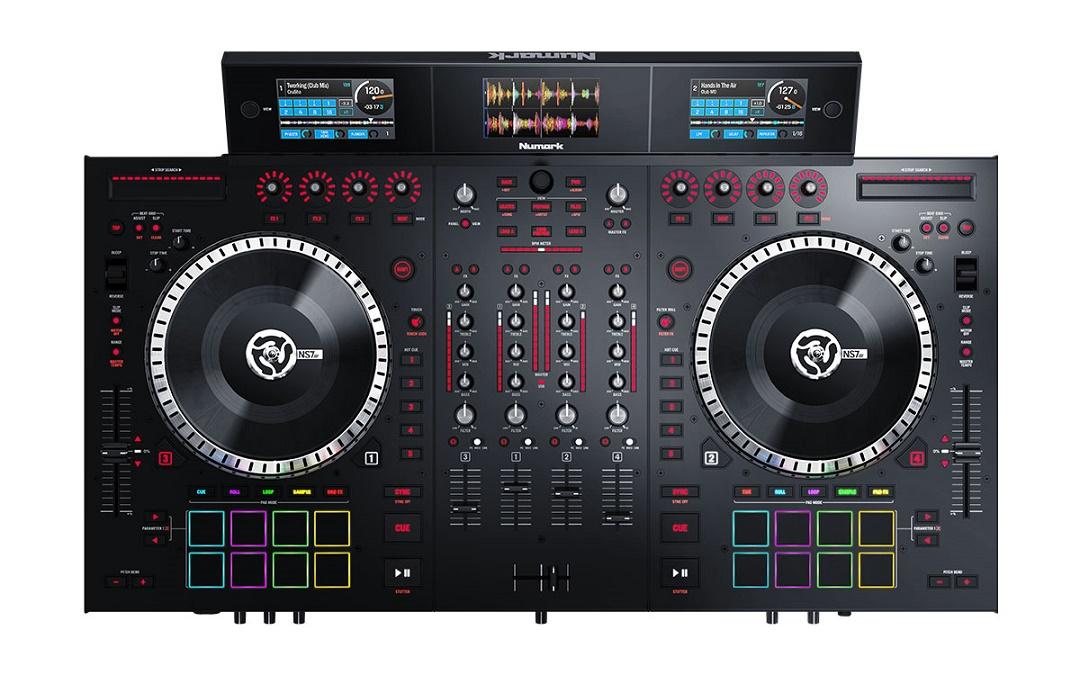 Cele mai bune controllere DJ pentru Serato - Numark NS7 III