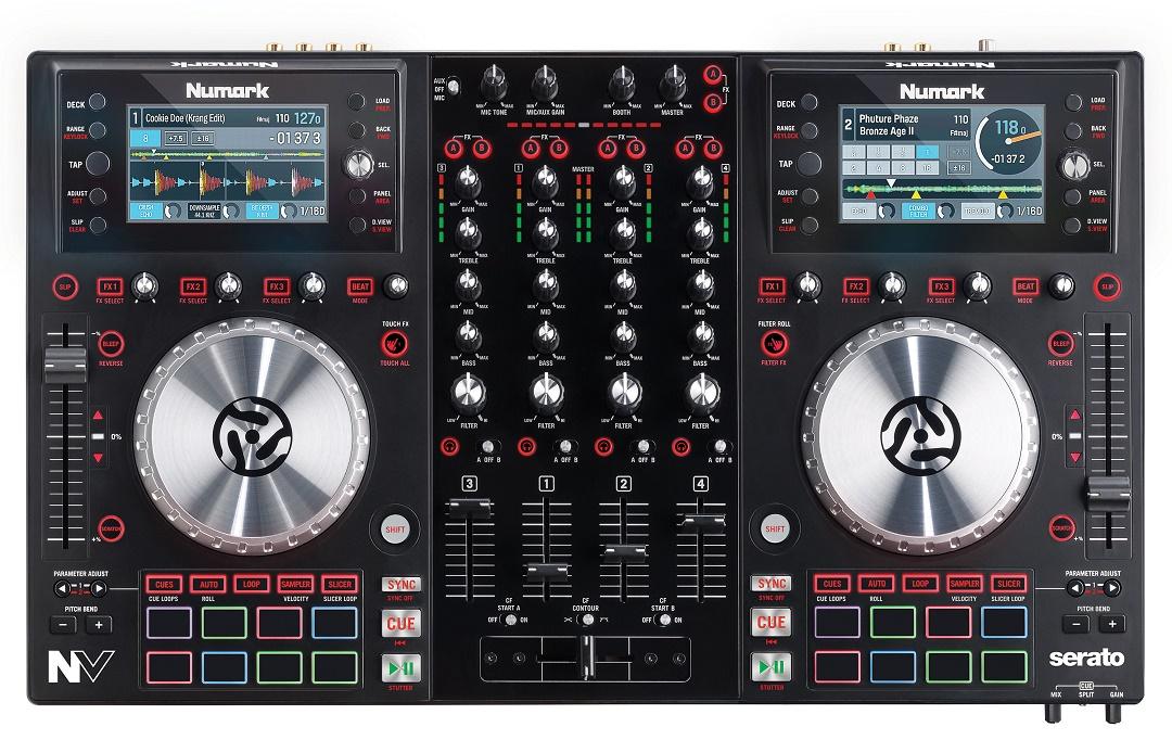 Cele mai bune controllere DJ pentru Serato - Numark NV