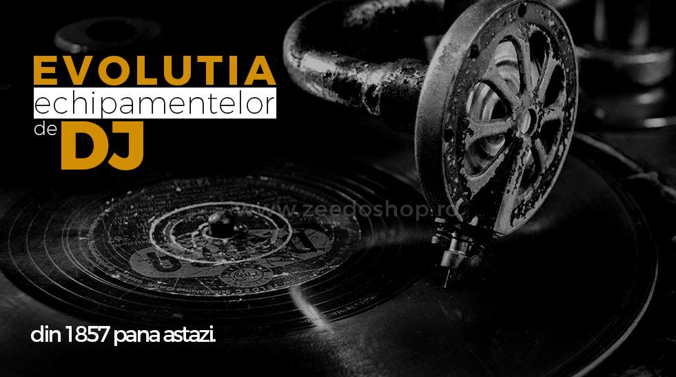 Evolutia echipamentelor de DJ