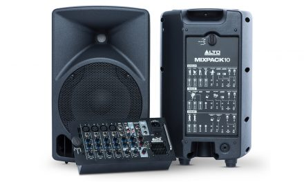 Alto lanseaza un nou sistem audio portabil MixPack 10