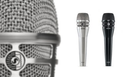 Shure lanseaza primul microfon cu diafragma duala KSM8