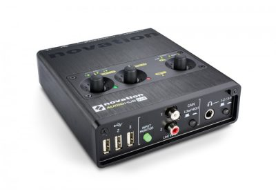 Top 13 interfete audio pana in 1000 de lei - Novation Audiohub 2x4