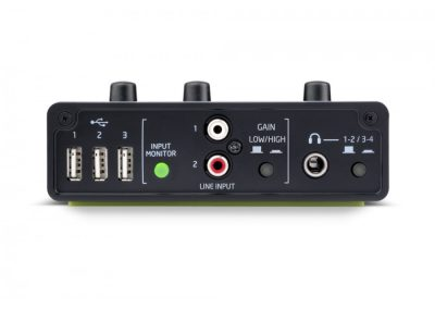 Top 13 interfete audio pana in 1000 de lei - Novation Audiohub 2x4 fata