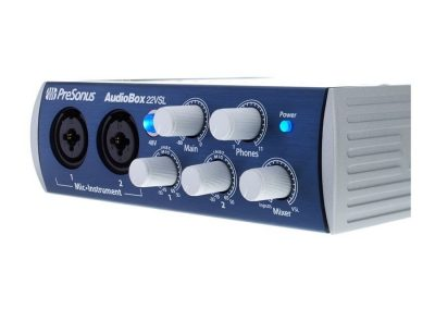 Top 13 interfete audio pana in 1000 de lei - Presonus AudioBox 22VSL