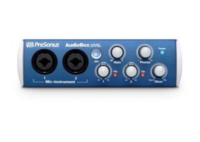 Top 13 interfete audio pana in 1000 de lei - Presonus AudioBox 22VSL fata