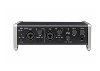 Top 13 interfete audio pana in 1000 de lei - Tascam US 2x2 fata