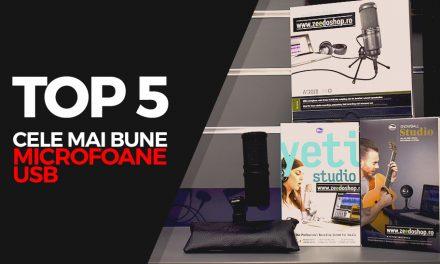 Top 5 cele mai bune microfoane USB