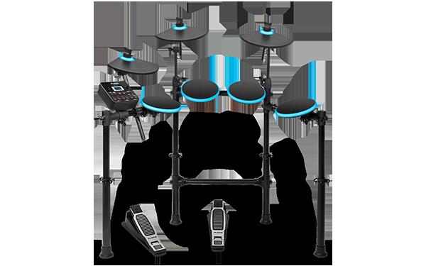 Top 5 tobe electronice pentru incepatori - Alesis DM Lite Kit