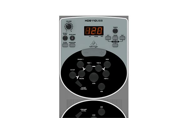 Top 5 tobe electronice pentru incepatori - Behringer XD 8 USB 1