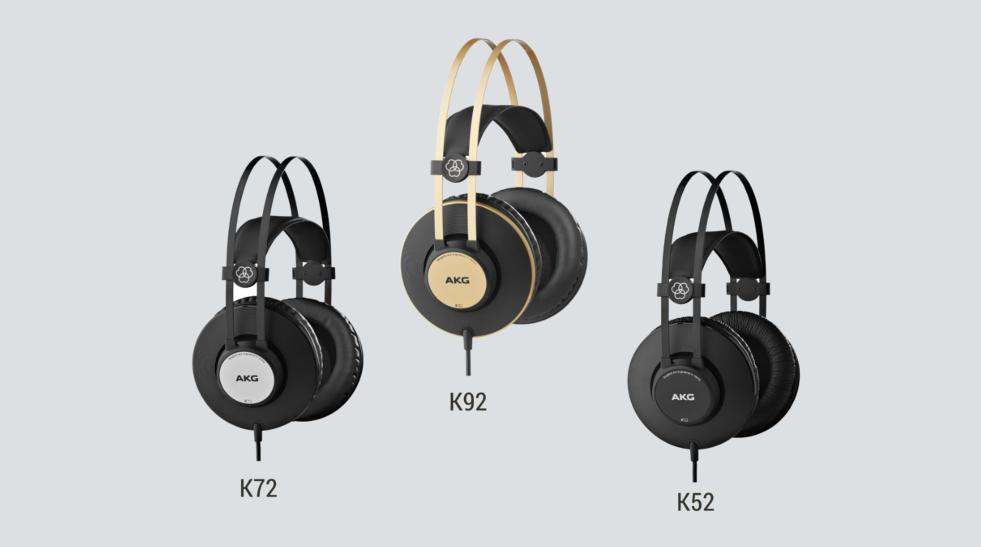 3 modele noi de casti audio lansate de AKG