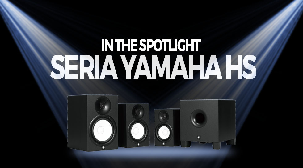 In the spotlight: seria de monitoare de studio Yamaha HS