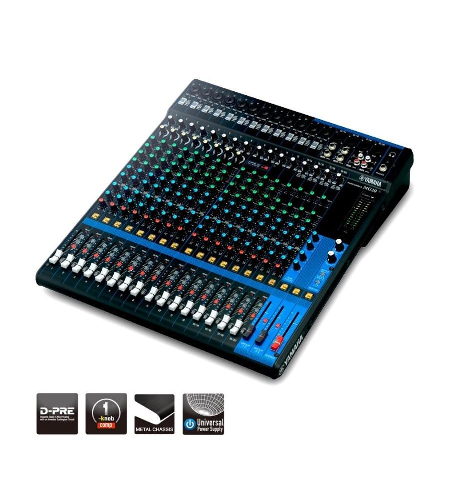 Sonorizarea unui eveniment - Mixer live