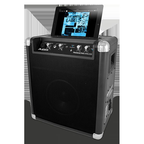 5 sisteme audio portabile ce iti ofera portabilitate oriunde te-ai afla - Alesis Transactive lateral cu tableta