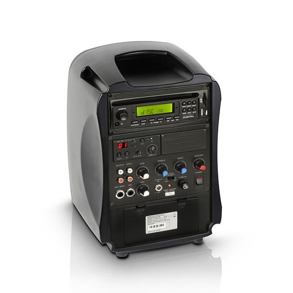 5 sisteme audio ce iti ofera portabilitate oriunde te-ai afla - LD Systems Roadboy 65 spate