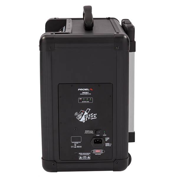 5 sisteme audio ce iti ofera portabilitate oriunde te-ai afla - Proel Free8LT lateral