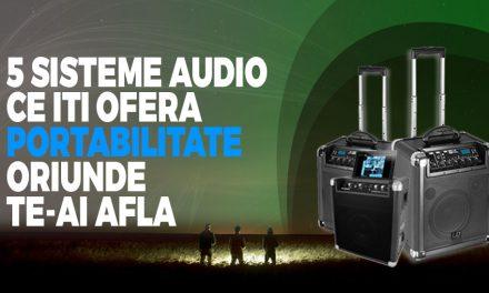 5 sisteme audio ce iti ofera portabilitate oriunde te-ai afla