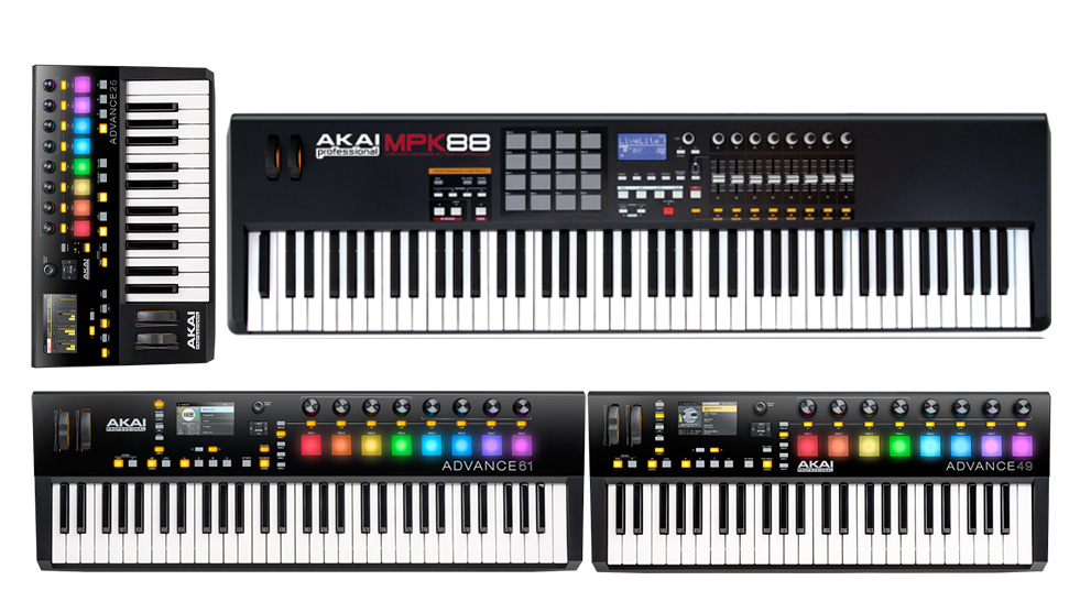 Exemple clape MIDI 25 - 49 - 61 - 88 clape