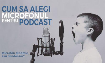 Sfaturi utile in alegerea unui microfon de podcast