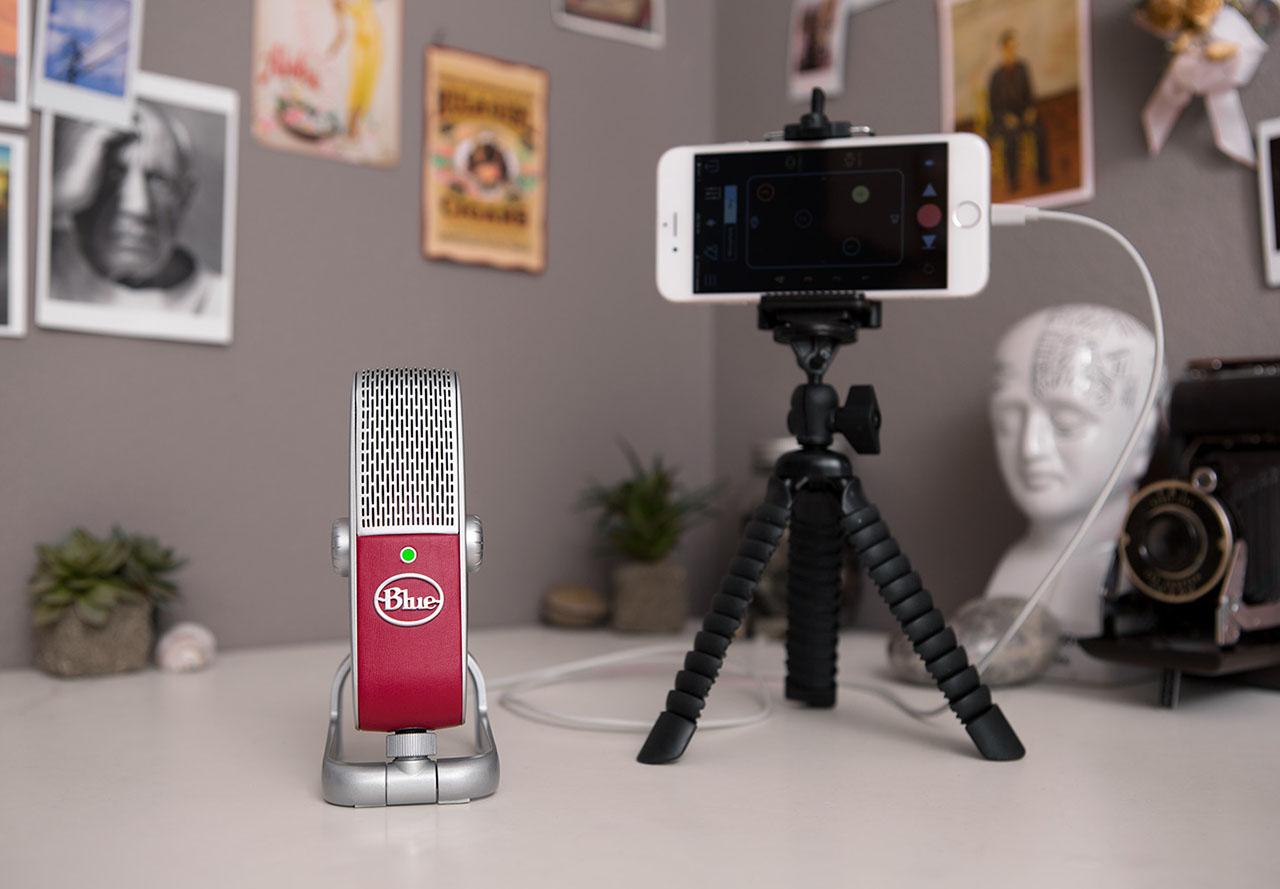 Blue Microphones Raspberry - Inregistrari muzicale