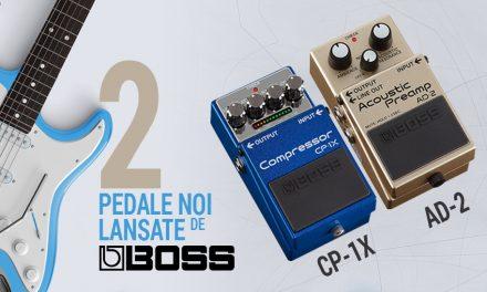 BOSS anunta lansarea a doua noi modele de pedale