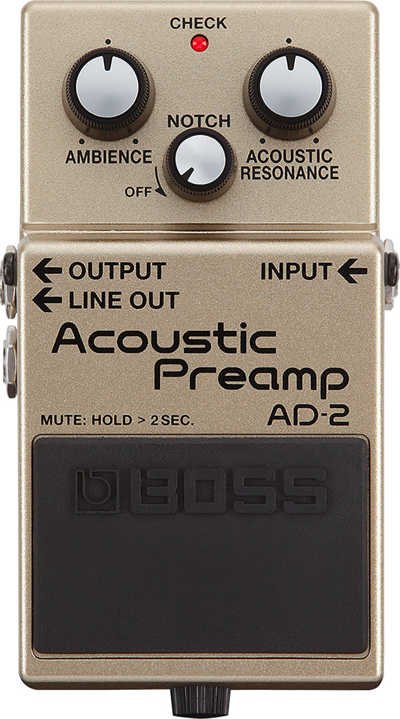 Pedala Acoustic Preamp - Boss AD-2