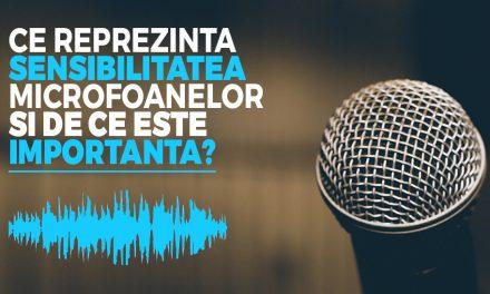 Ce reprezinta sensibilitatea microfonului si de ce este importanta?