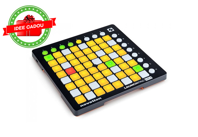 Idei de cadouri de Craciun - Controller USB Novation Launchpad Mini