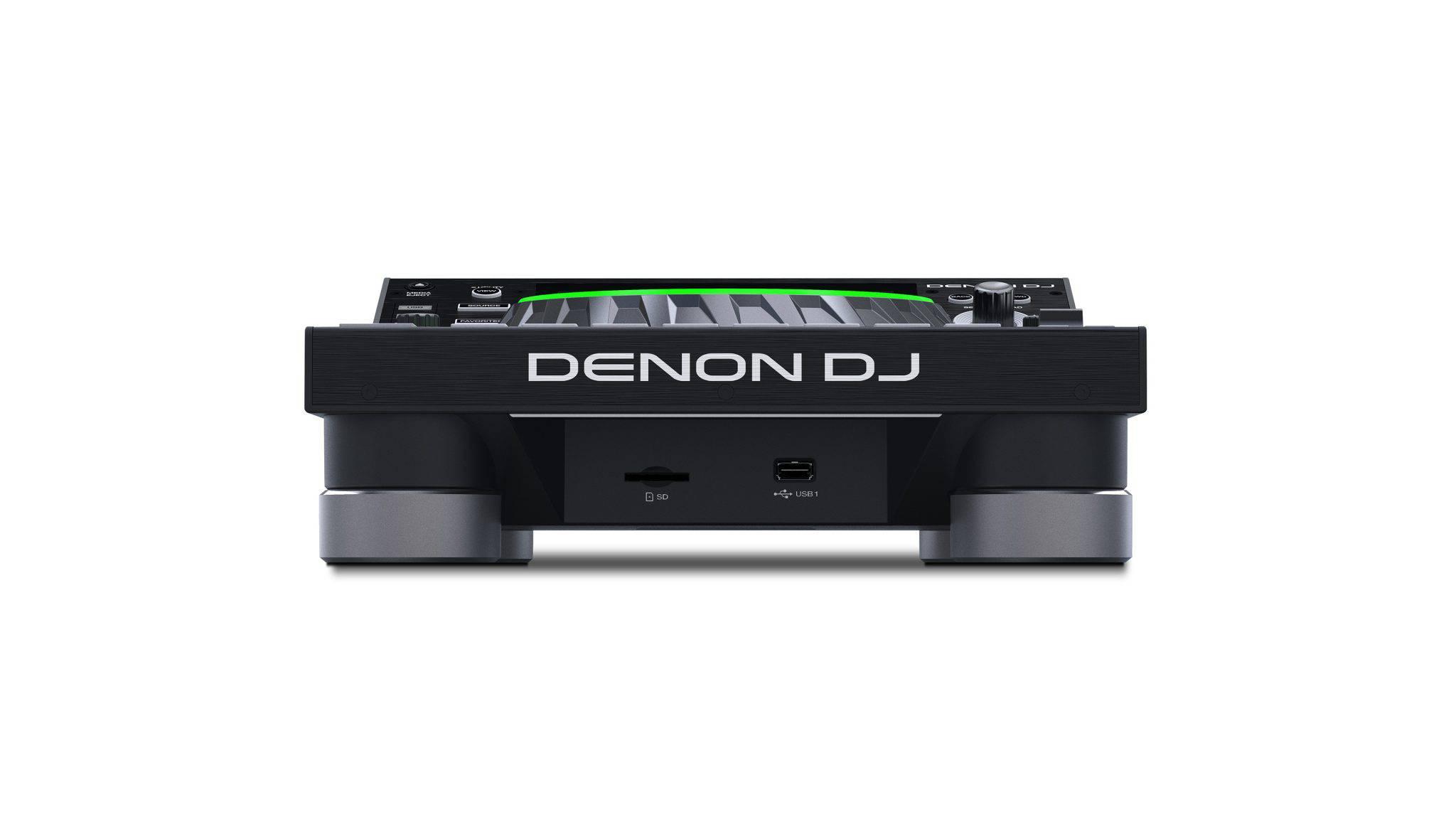Denon DJ SC5000 Prime - Cel mai avansat media player - vedere din spate