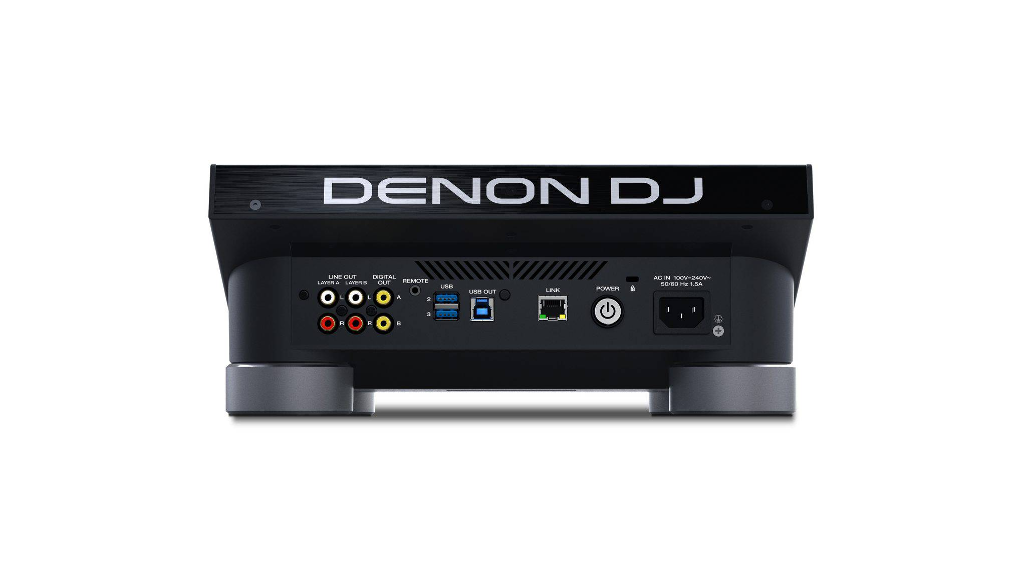Denon DJ SC5000 Prime - Cel mai avansat media player - vedere frontala