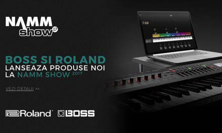 NAMM 2017: Echipamente noi Roland si Boss pentru o creativitate extinsa
