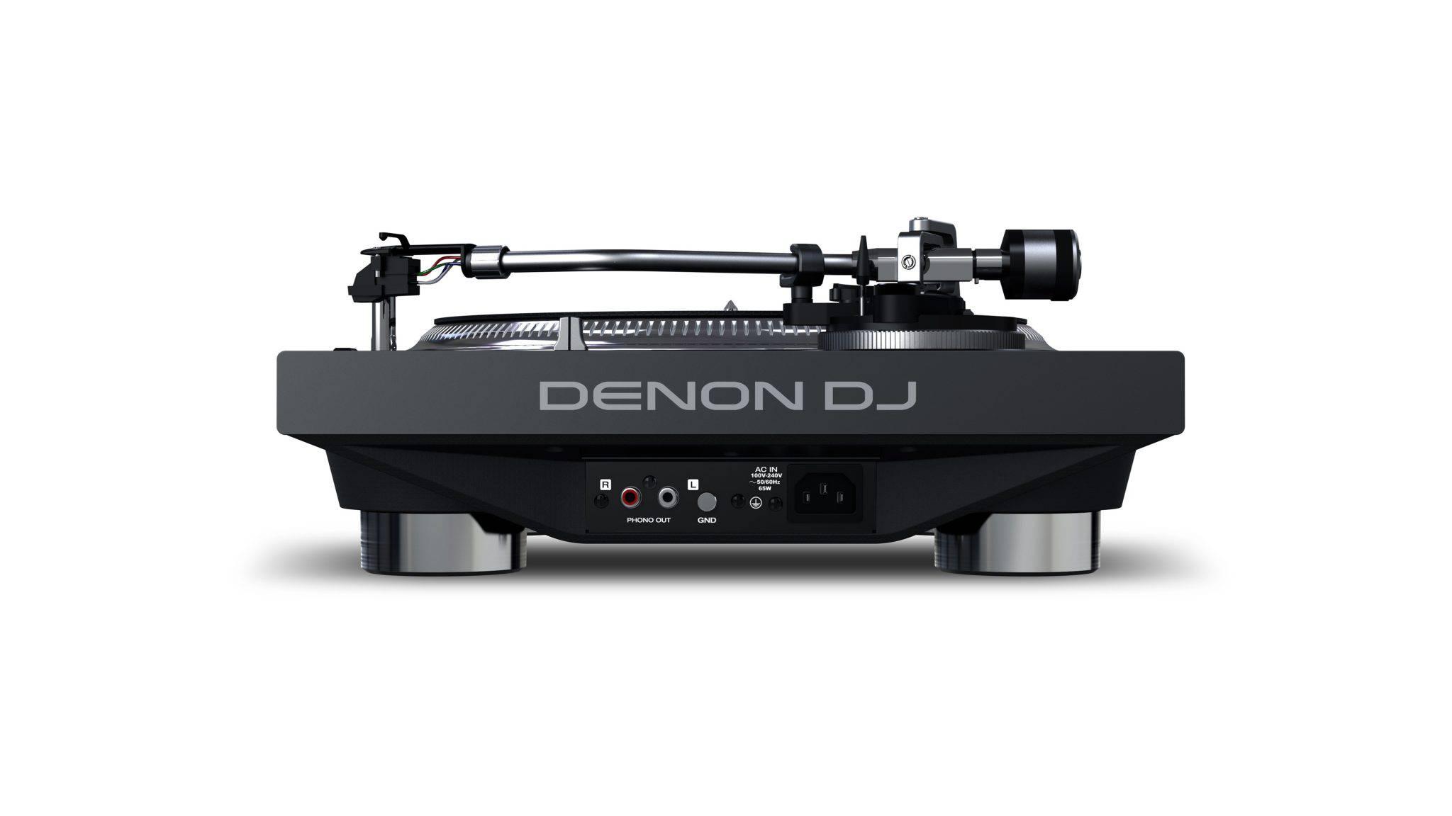 Denon DJ VL12 - Noul platan din seria PRIME vedere conexiuni