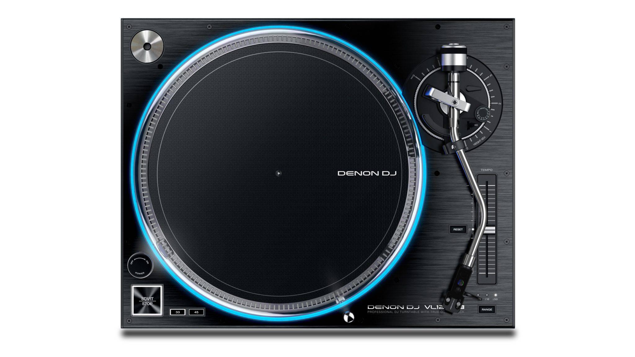 Denon DJ VL12 - Noul turntable al serie PRIME vedere ansamblu
