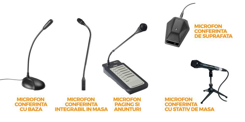 Microfoane de conferinta si paging