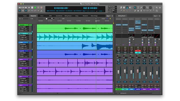 Motu DP 9 - Cele mai bune softuri DAW 2017