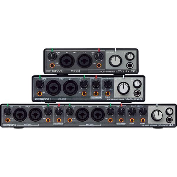 Roland Rubix Series - Interfete audio pentru productie muzicala si pentru muzicieni