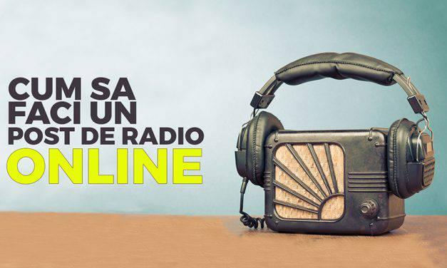 Ce echipamente sunt necesare pentru a crea un post de radio online?