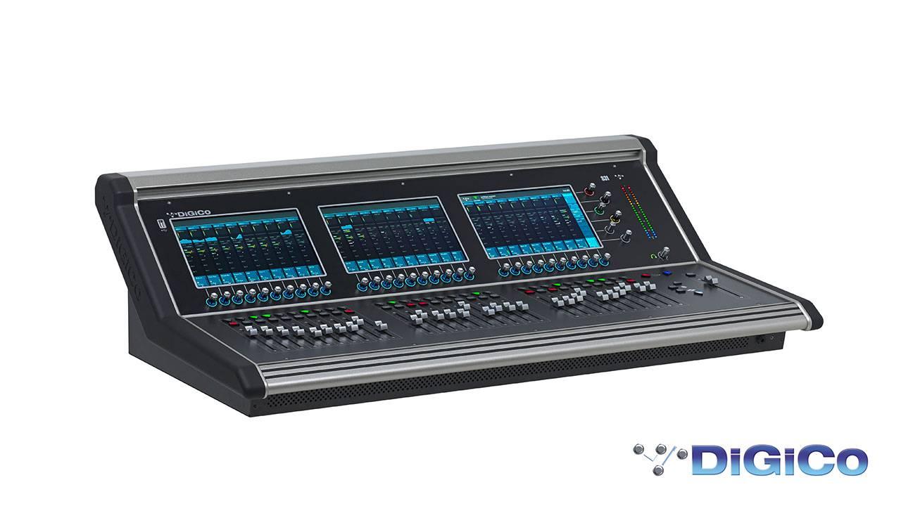 DiGiCo SD31 - Noua consola de mixaje profesionale adresata profesionistilor