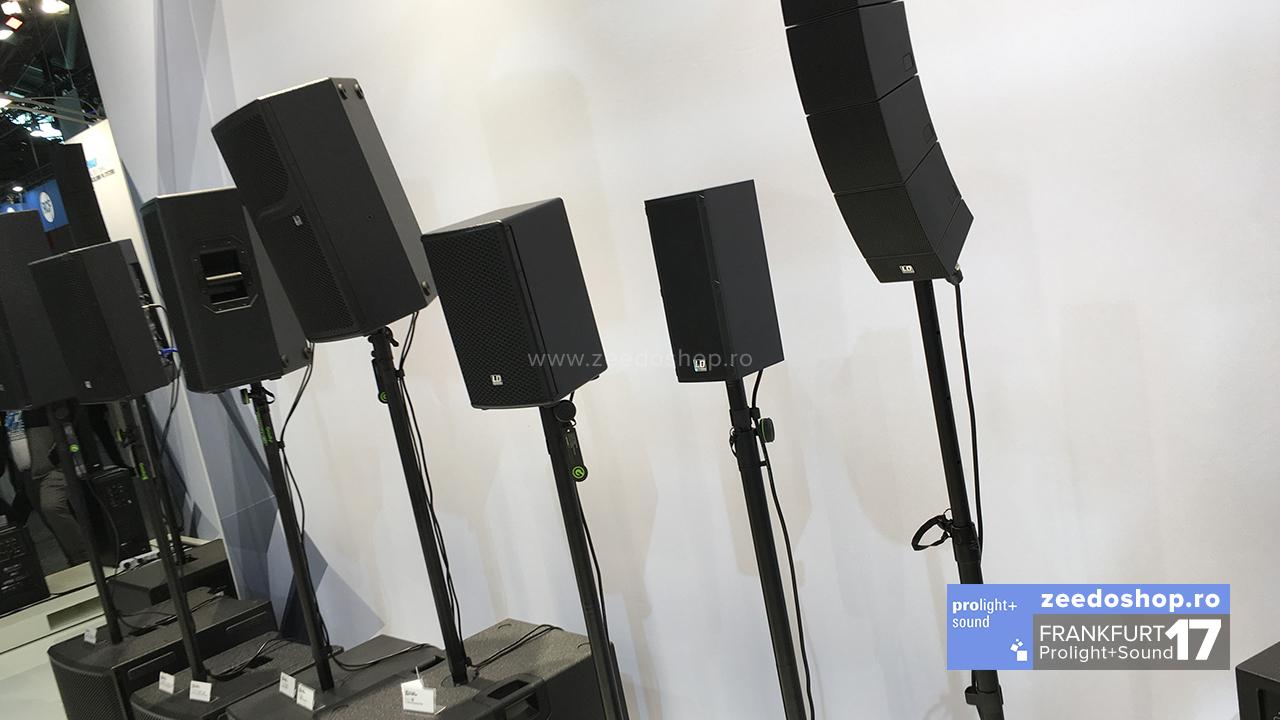 Prolight + Sound 2017 LD Systems - serii de boxe pentru evenimente mobile