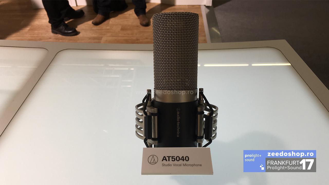 Prolight + Sound 2017 - Audio Tehnica lanseaza seria de microfoane AT50