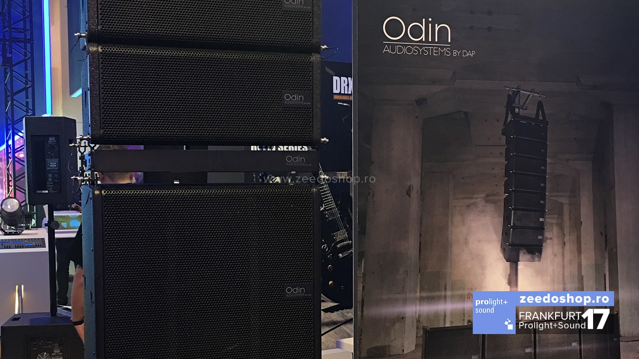 Prolight + Sound 2017 - DAP Audio Odin Soundsystems