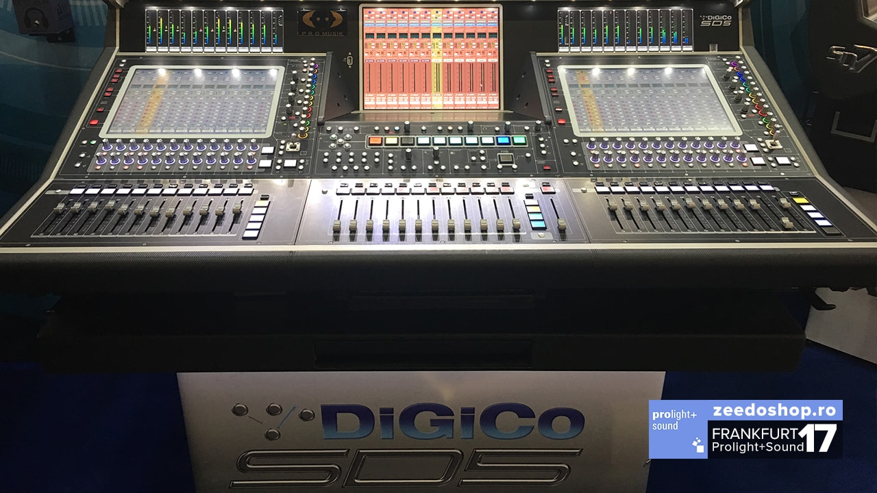 Prolight + Sound 2017 - DiGiCo SD5 - Vedere ansamblu