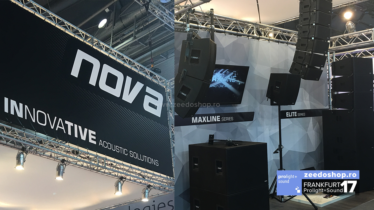 Prolight + Sound 2017 - Nova Acoustic