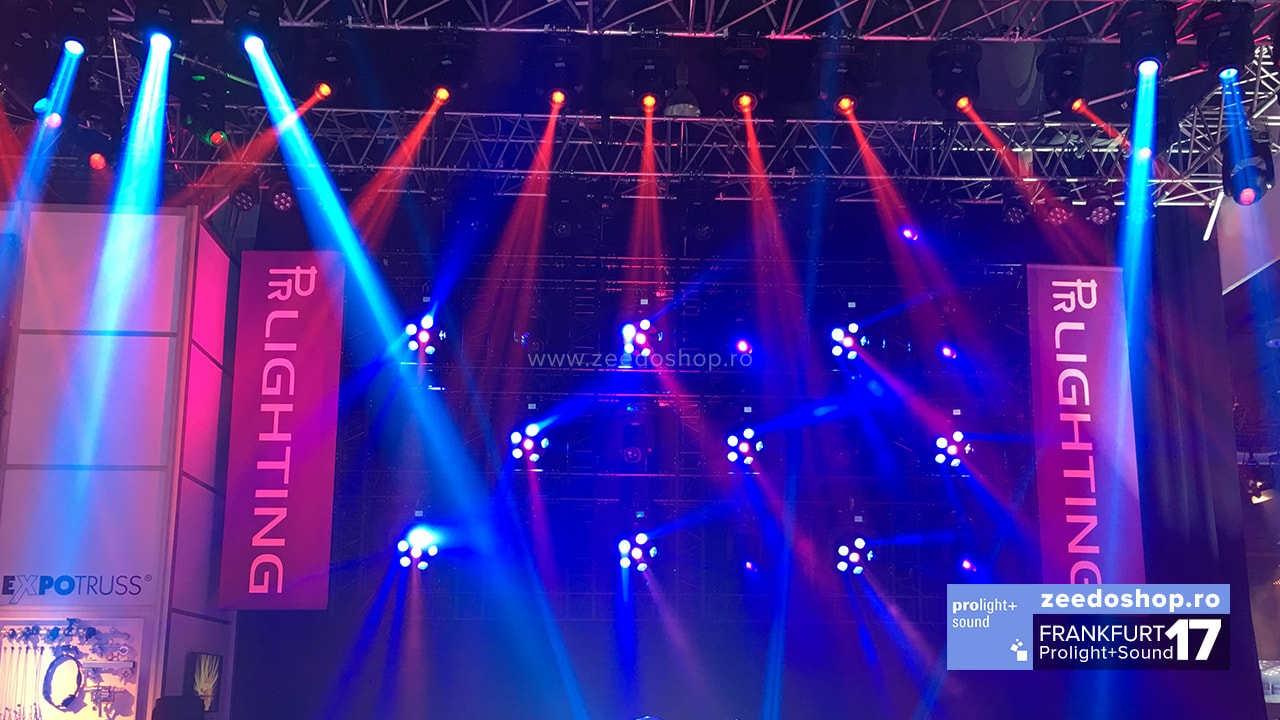 Prolight + Sound 2017 PR Lighting Showlights