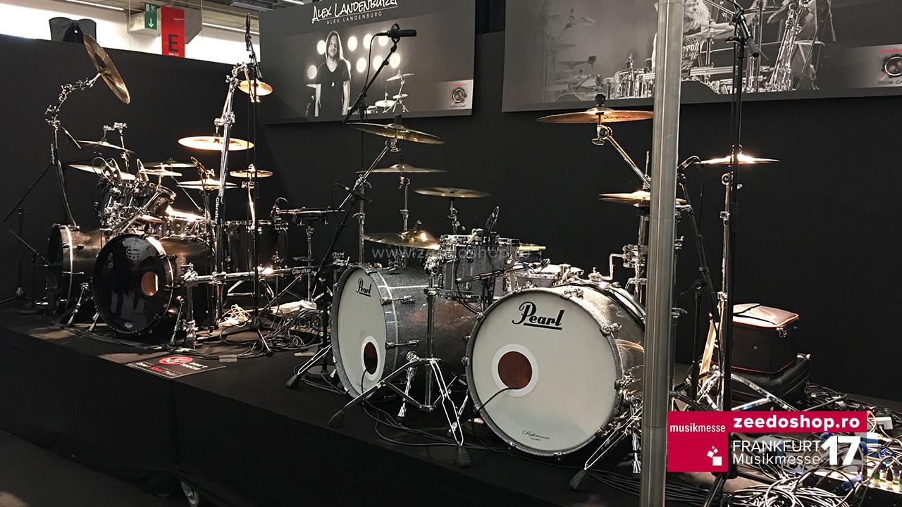 Musikmesse 2017 - Set de Tobe Pearl
