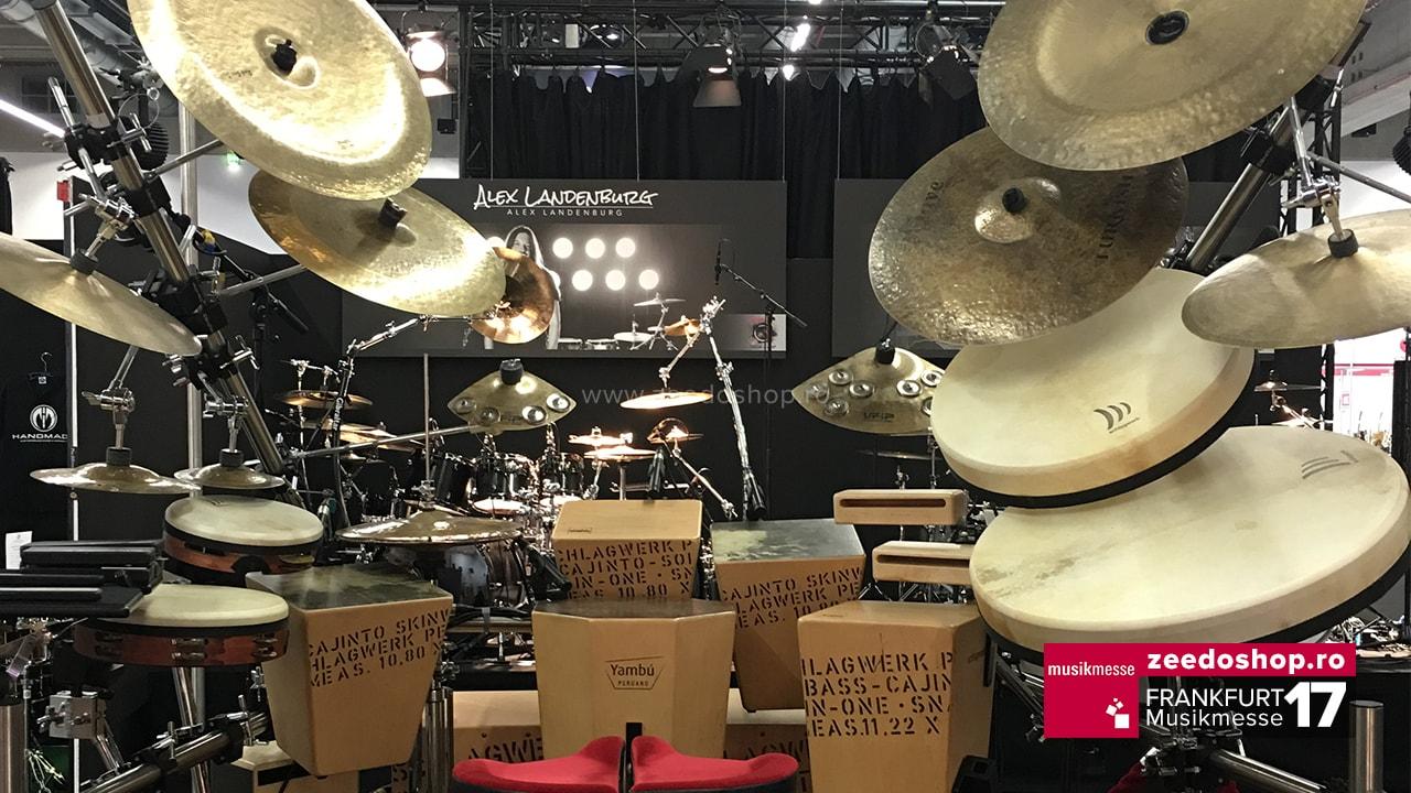 Musikmesse 2017 - Set de Tobe custom