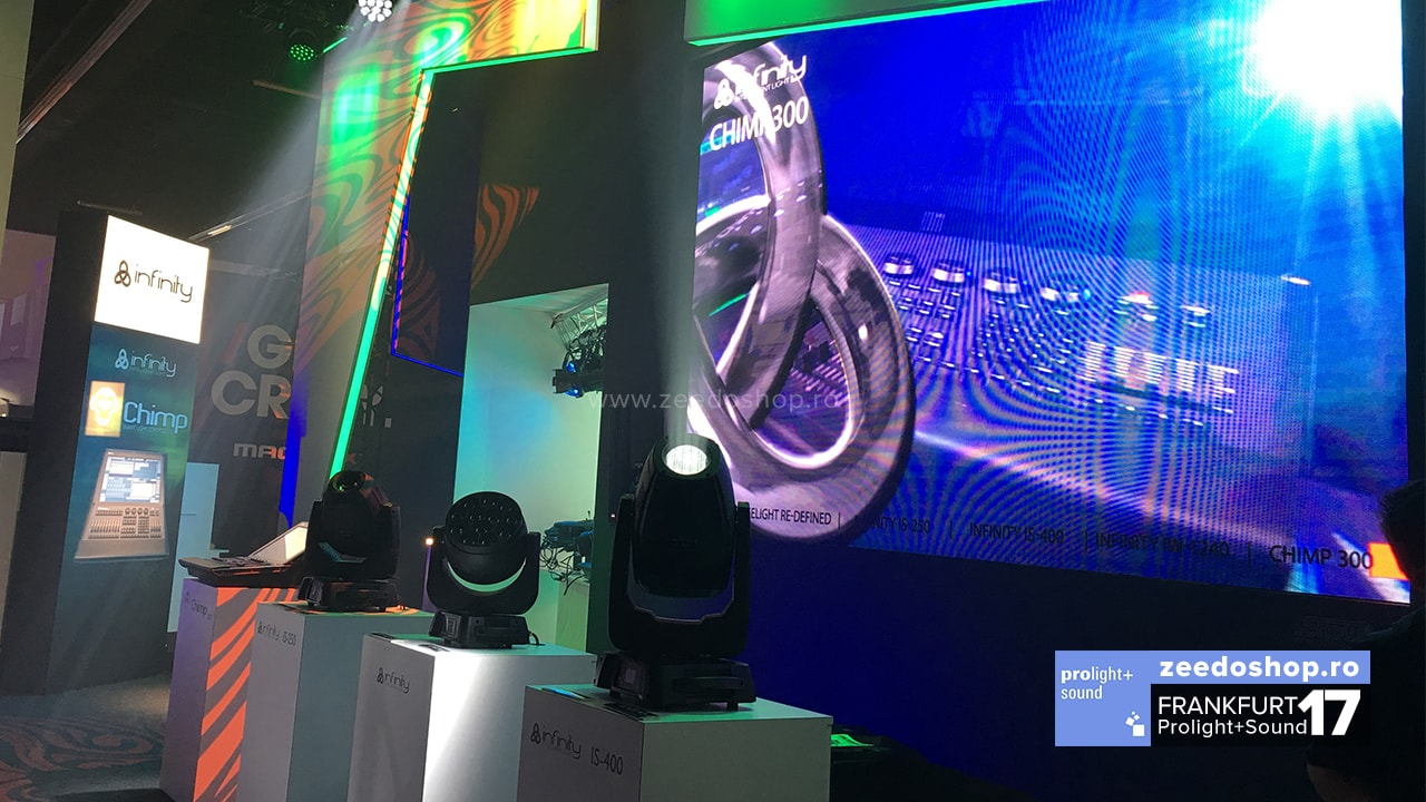 Prolight + Sound 2017 Showtec - Noile moving head-uri Infinity iW