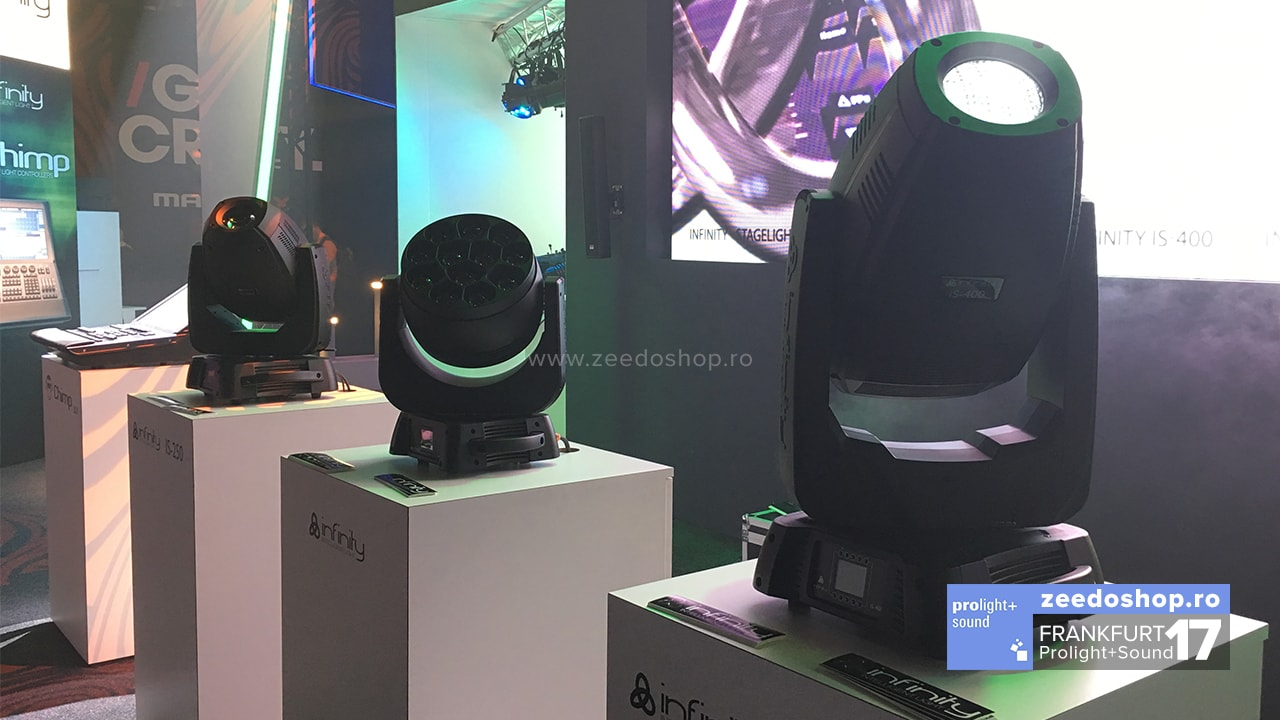 Prolight + Sound 2017 Showtec - Noile moving head-uri Infinity
